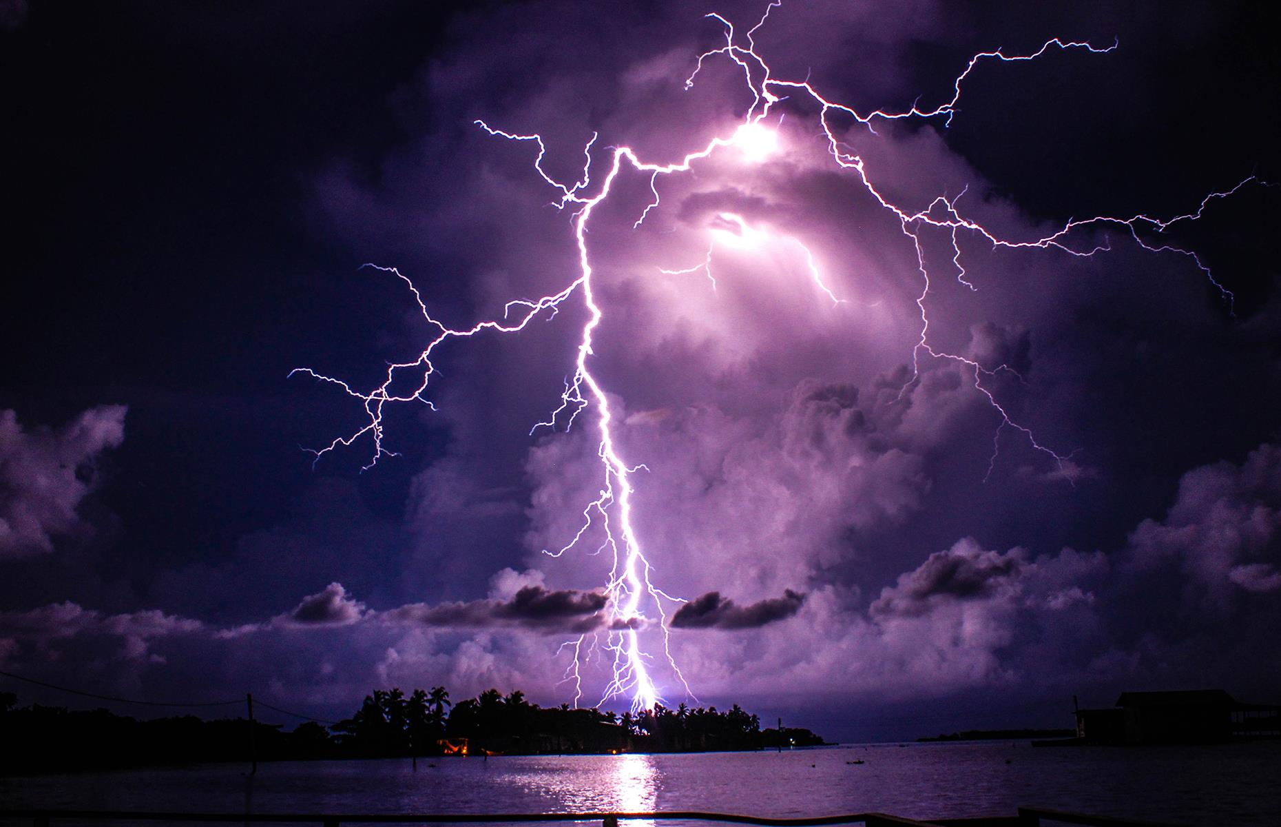 Slide 38 of 41: Unique to Venezuela, this type of lightning can only be observed over the mouth of the Catatumbo River where it empties into Lake Maracaibo. The lightning show occurs approximately 260 nights a year, 10 hours per day and up to 280 times per hour, however in 2010 it ceased from January to March due to a drought, leaving many in fear that the famous lightning might be extinguished permanently. Take a look at other jaw-dropping images of the world's weather.