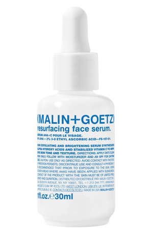malin+goetz resurfacing face serum