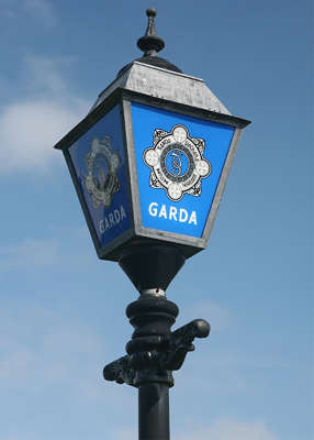 a clock tower on top of a pole: Up to 100 people are being questioned as part of the Garda investigation. Pic: Shutterstock