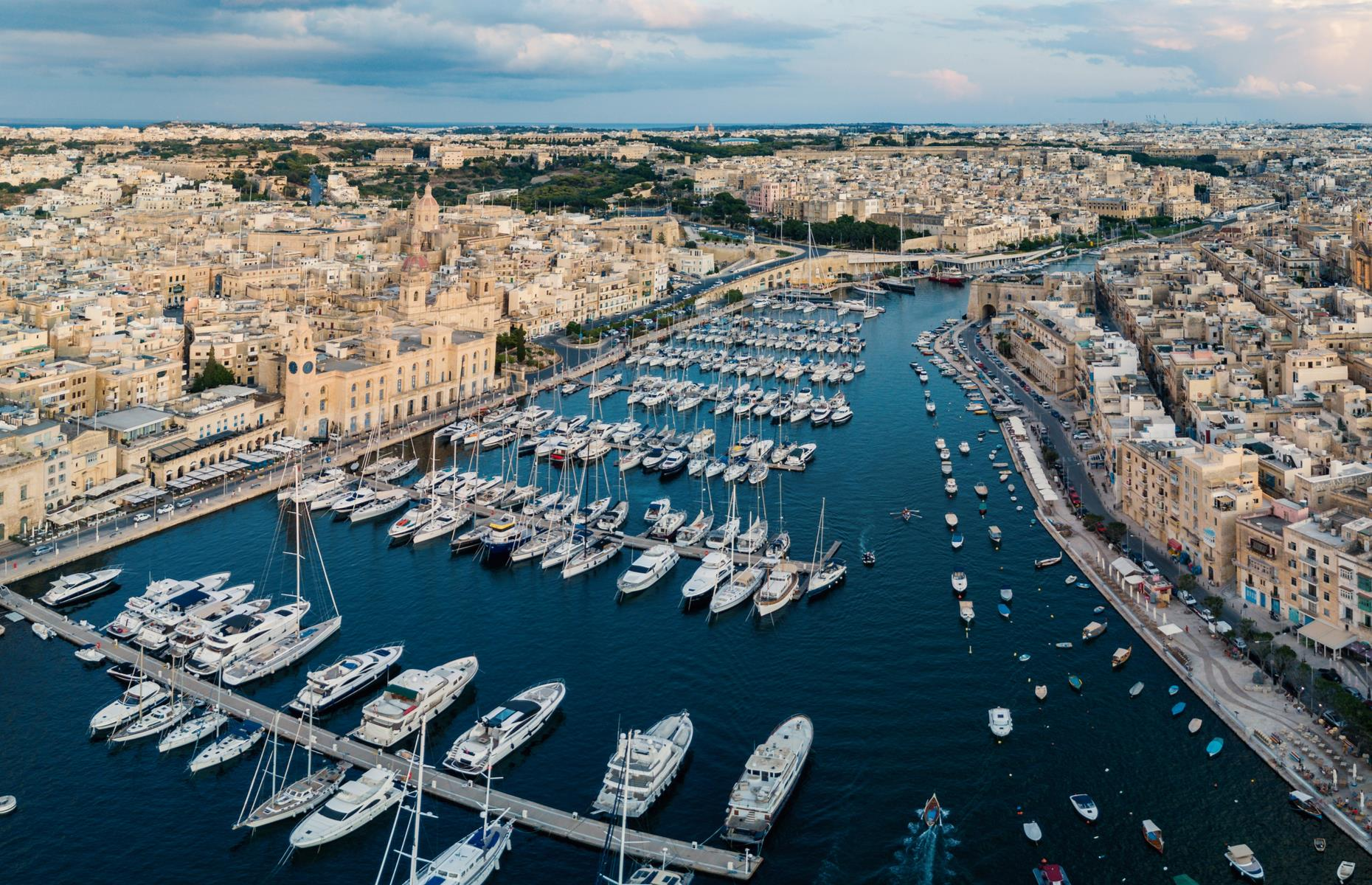 Slide 8 of 31: Filled with a dazzling array of luxury yachts, Valletta's Grand Harbour is the hub of this historic city. The port has been used for trade since Roman times, although nowadays it's focused on cruise ships as opposed to cargo. Take a look at our city guide to Valletta.