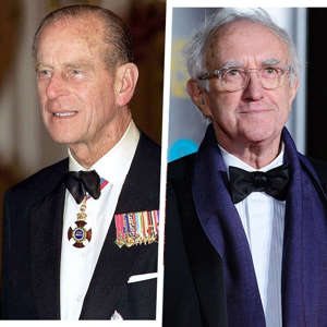 Prince Philip, Duke of Edinburgh, Jonathan Pryce are posing for a picture: Getty Images