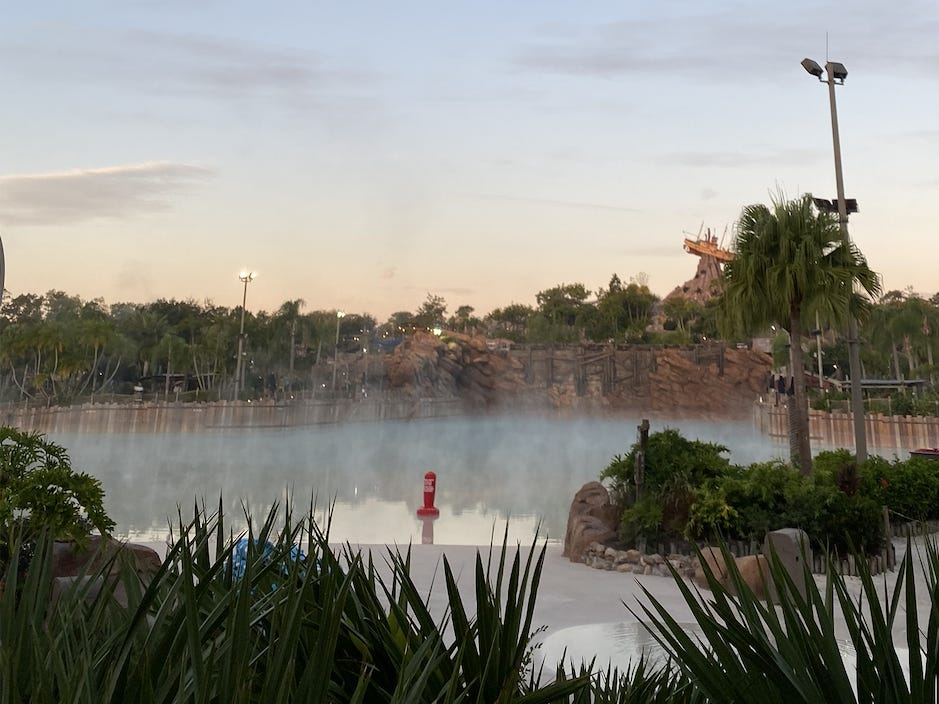 Slide 10 of 17: Wave pools are always a big hit at water parks, and the one at Disney's Typhoon Lagoon is no exception.The massive Surf Pool holds nearly 3 million gallons of water, making it one of the largest wave pools in North America.