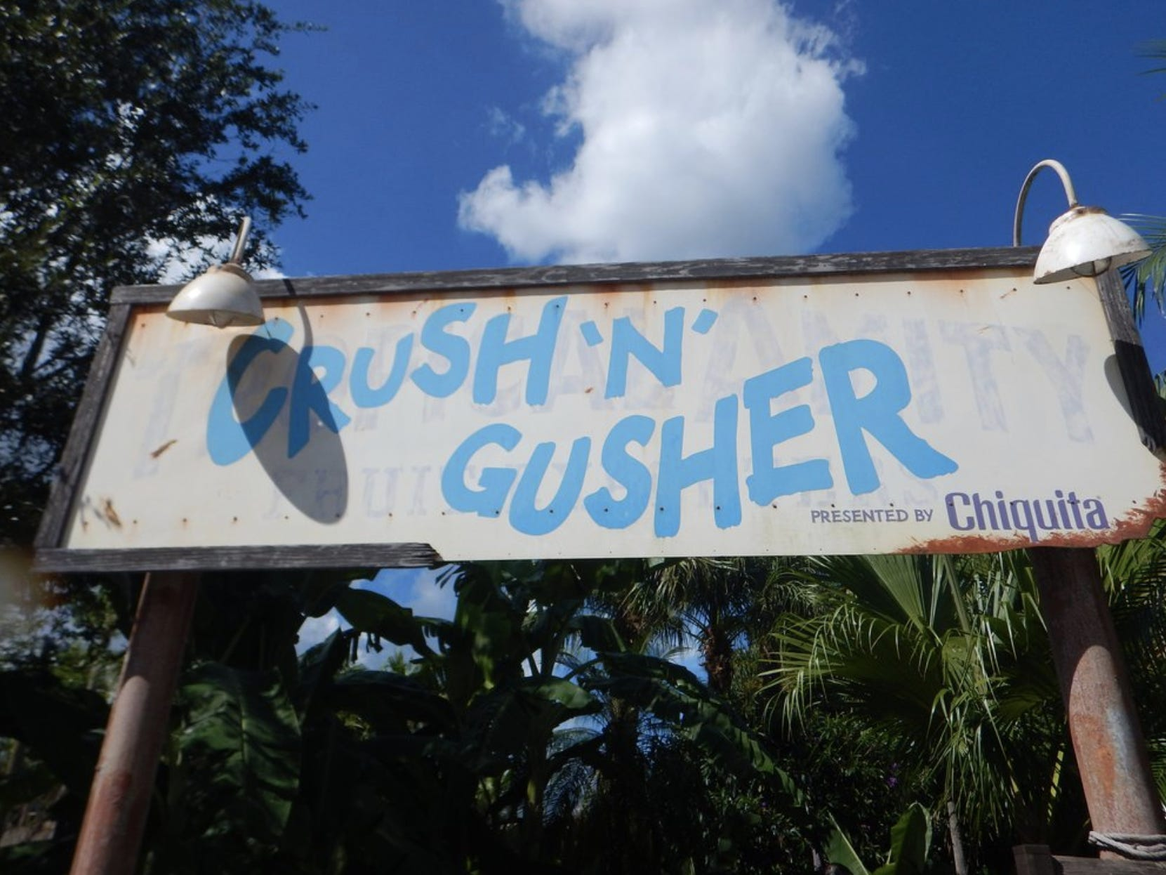 Slide 12 of 17: Crush 'n' Gusher is a fast water coaster at Typhoon Lagoon. A Disney Imagineer told the Orlando Sentinel that it pumps 1,350 gallons of water per minute.