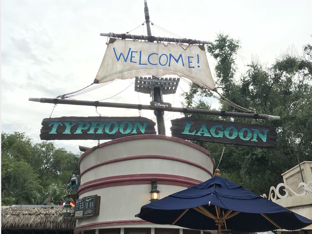 Slide 13 of 17: It takes a lot of bravery to jump into water where sharks are lurking, but guests at Disney's Typhoon Lagoon used to do just that.The shark reef allowed guests to swim and snorkel with sharks, fish, and other sea life, but the experience closed in October 2016 to make way for Miss Adventure Falls.