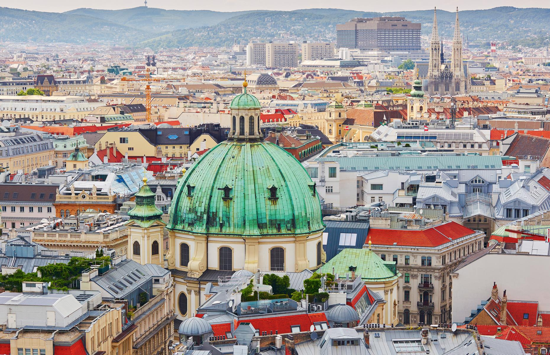 "Slide 4 of 53: With its baroque mansions and gardens, grand monuments, Ringstrasse and medieval core, Vienna's city center received UNESCO status in 2001. But with a new high-rise project threatening to change the city's skyline, its historic center was placed on the danger list in 2017. UNESCO said: ""Vienna's continuing development requires a very sensitive approach that takes into account the attributes that sustain the outstanding universal value of the property."""
