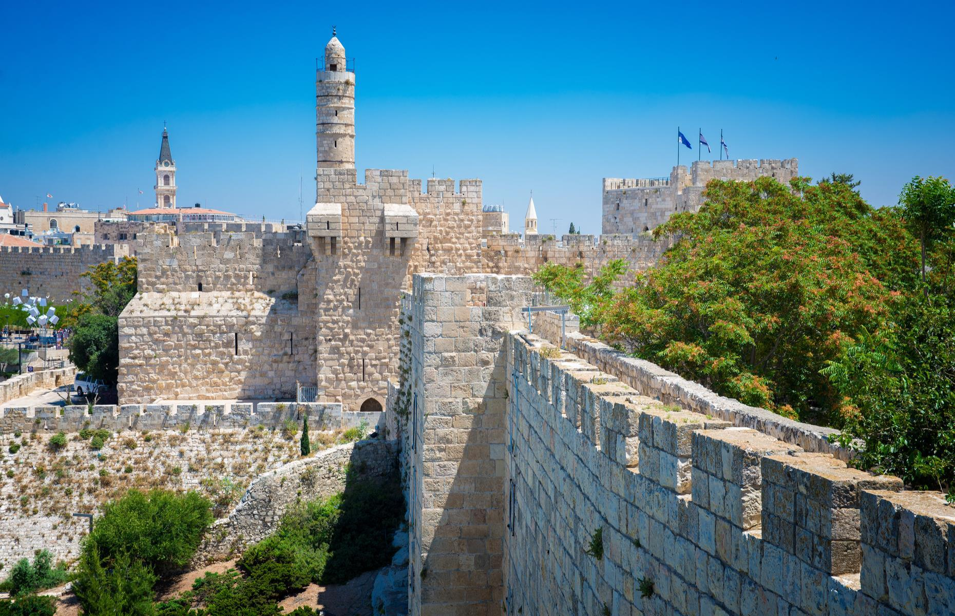 "Slide 19 of 53: A holy city for Judaism, Christianity and Islam, this age-old center is home to innumerable treasures and historic monuments, including the Dome of the Rock and the Wailing Wall. It has been on the danger list since 1982. Besides political instability, the site is also threatened by urbanization. In 2007, UNESCO stated its concern about the ""obstacles and practices, such as archaeological excavations or new constructions"" around the Old City."