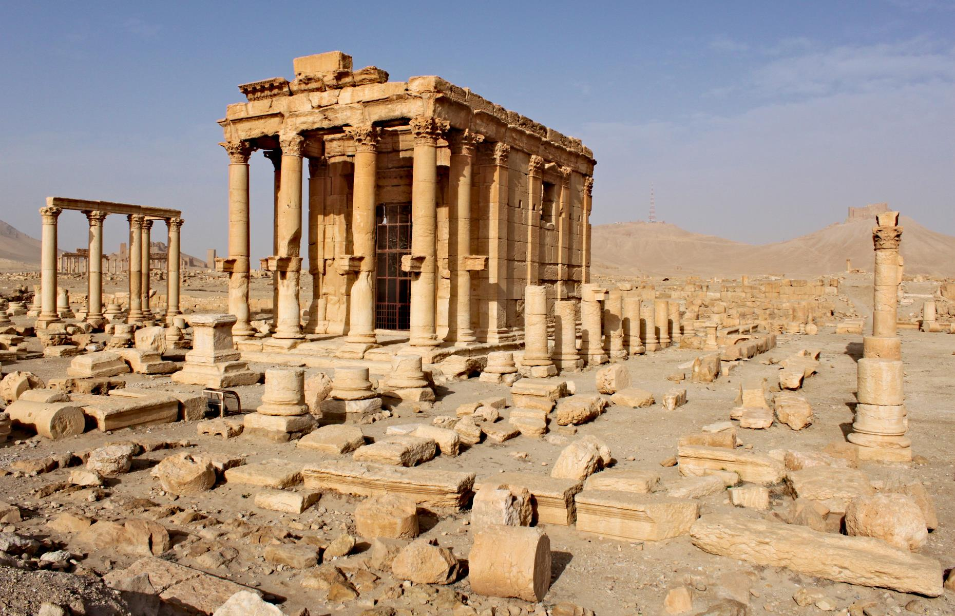 "Slide 44 of 53: The desert ruins of Palmyra, which combine Greco-Roman, Persian and Arabian architecture, were one of the ancient world's most valuable cultural centers and renowned for their beauty. Palmyra has faced repeated attacks, but the precious site was extensively damaged during Isis' occupation in 2015. UNESCO called the destruction of the ruins a ""war crime and an immense loss for the Syrian people and for humanity""."