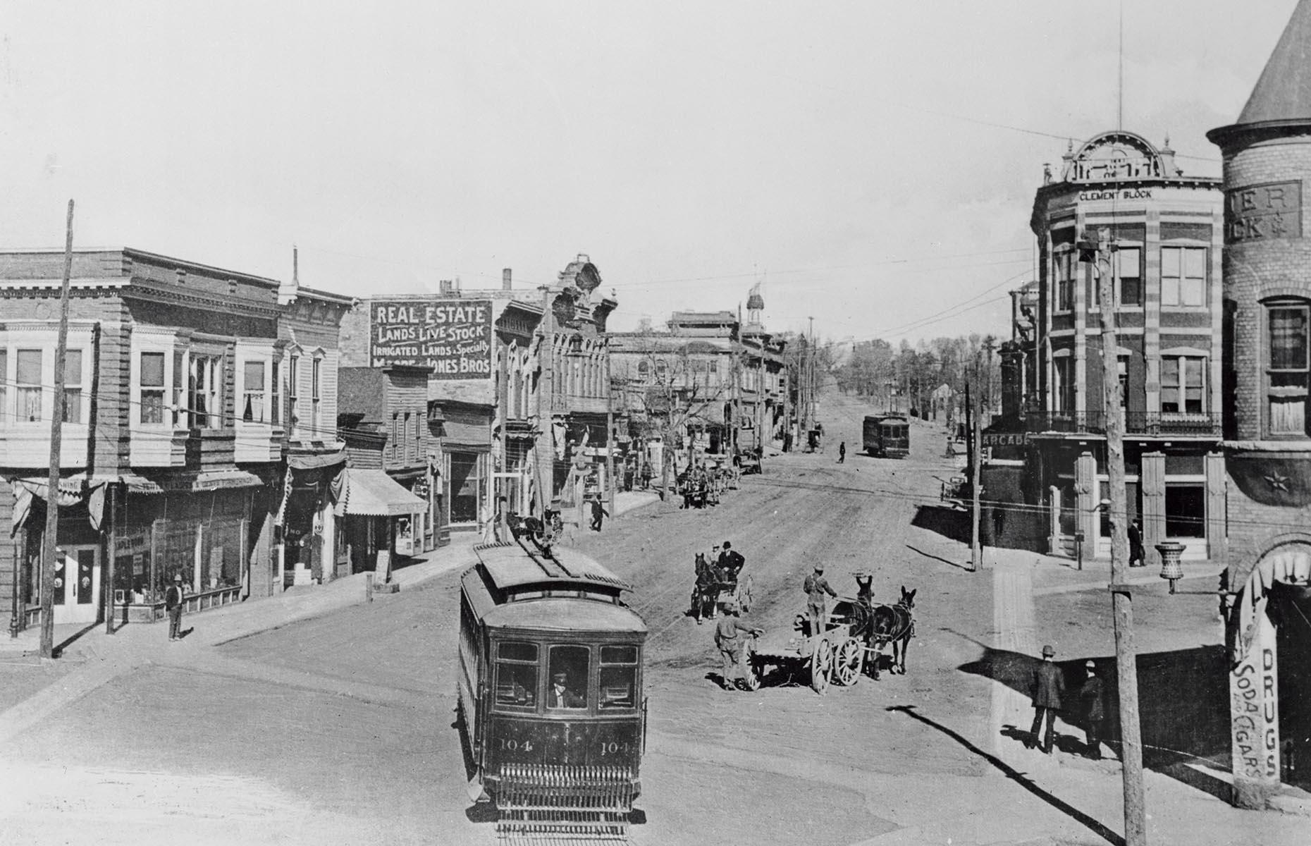 Slide 6 of 34: Due to the harsh conditions – hot weather, unproductive soil and limited water resources – Las Vegas grew slowly at first. There was an exception to the rule though. One area flourished, rapidly developing as a red light and gambling district. Even though the state outlawed gambling in 1910, illegal casinos continued underground until 1931 when it was legalized again. The nickname Sin City is thought to have originated from the two original blocks of Fremont Street, where gambling, ladies of the night and liquor were all easily accessible.