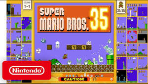 A competitive clash comes to the Mushroom Kingdom! Super Mario Bros. 35 is a competitive 35-player online battle where the last Mario standing wins! Beat courses while sending each other enemies you defeat! Coming 10/1 until 3/31 exclusively to Nintendo Switch Online.  https://www.nintendo.com/games/detail/super-mario-bros-35-switch/  #NintendoSwitchOnline #SuperMario #NintendoSwitch  Subscribe for more Nintendo fun! https://goo.gl/HYYsot