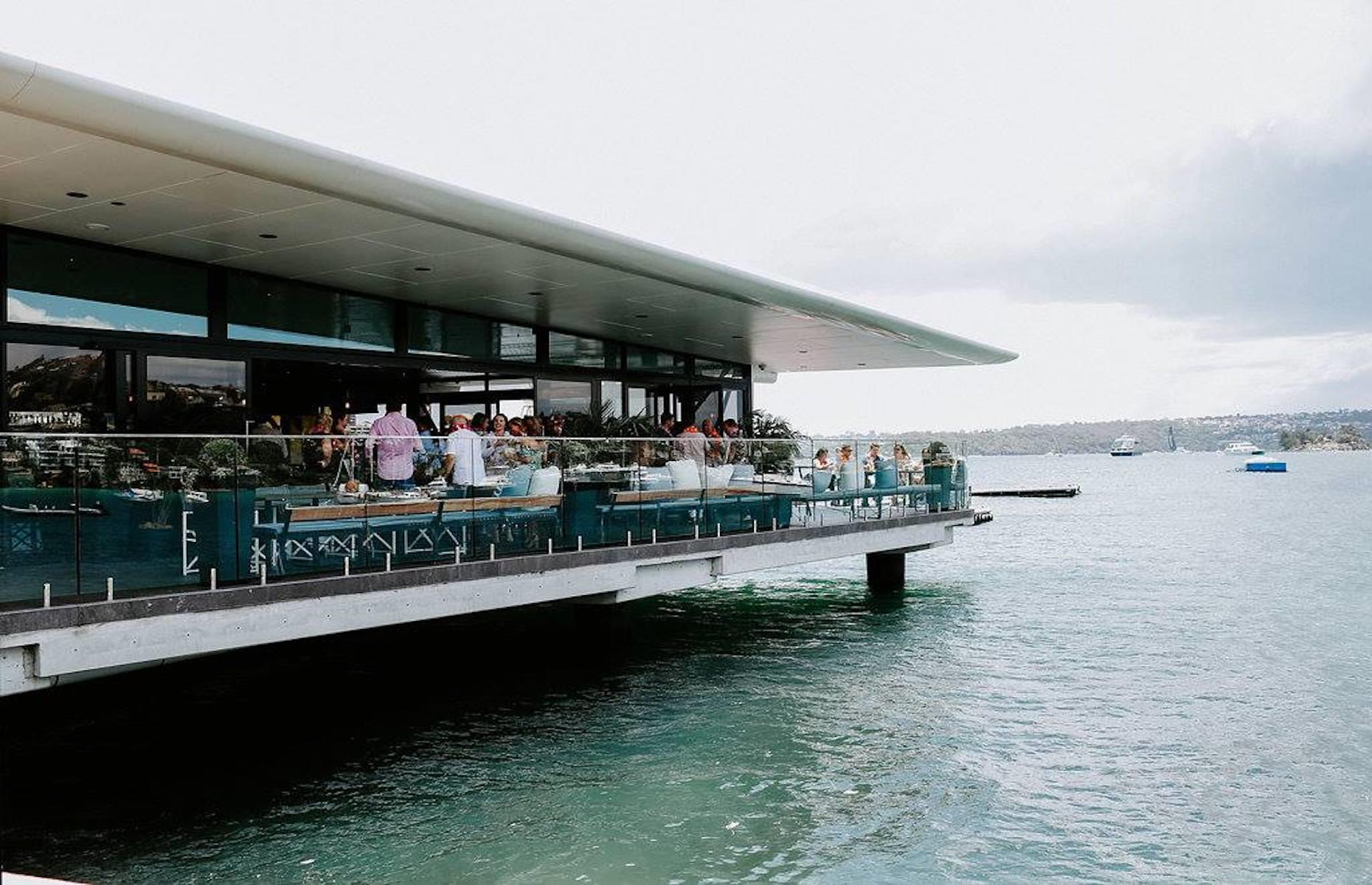 "Slide 28 of 36: The Empire Lounge, which opened in 2017, is a fantastic waterside cocktail bar and restaurant that doubles as the terminal. It's also popular with non-passengers who enjoy a drink as they watch the seaplanes come and go. There's also a little museum charting the history of the city's ""flying boats"", which first took the skies here in 1938 and played a key role in the Second World War. Australia's borders are currently closed to non-residents."