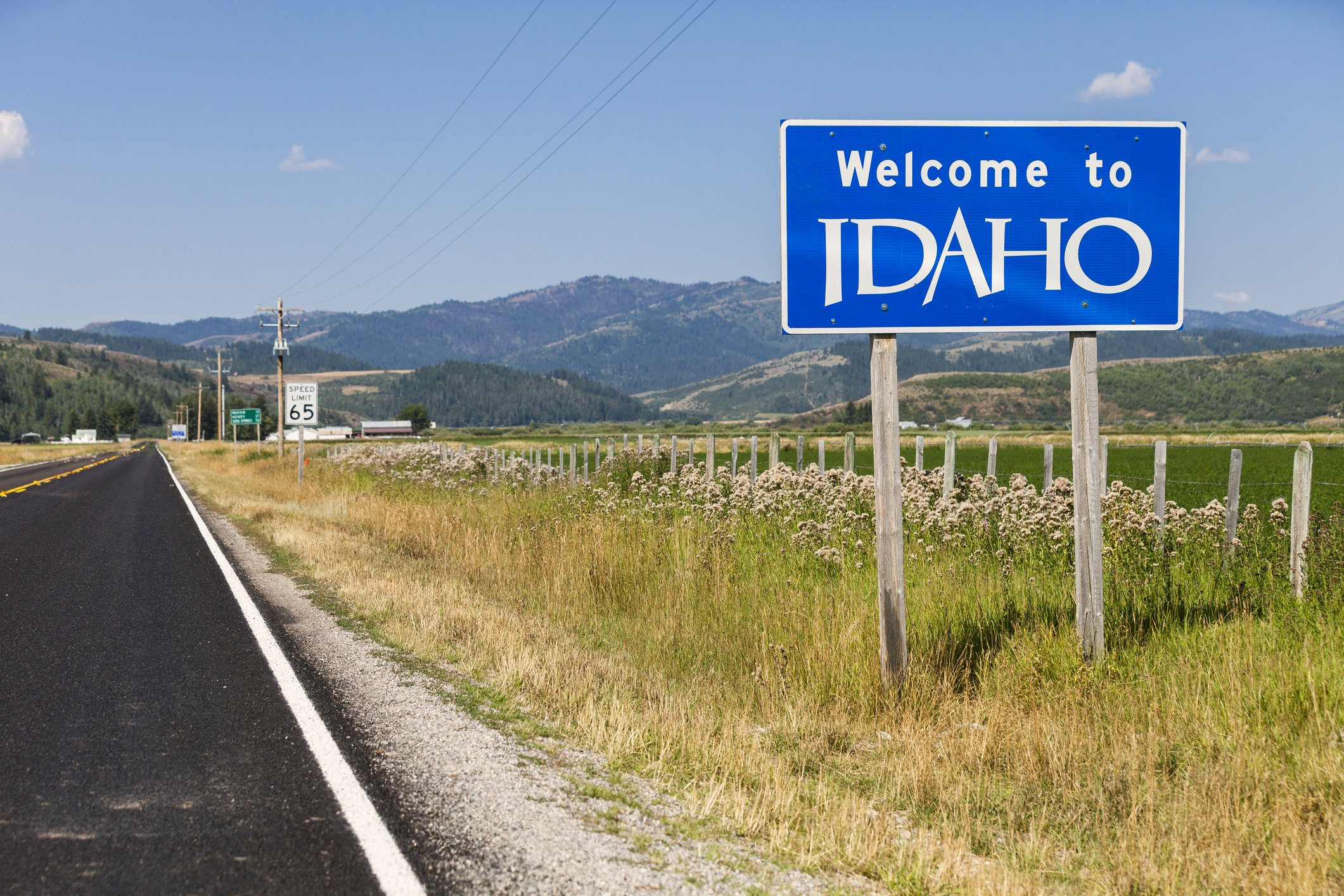 Slide 13 of 51: Idaho's sign used to be covered in stickers from travelers hailing from all over. The sticker-covered sign was replaced with a brand new one last year, but not before being auctioned off for $2,025. Don't miss these 50 hidden gems in each state.