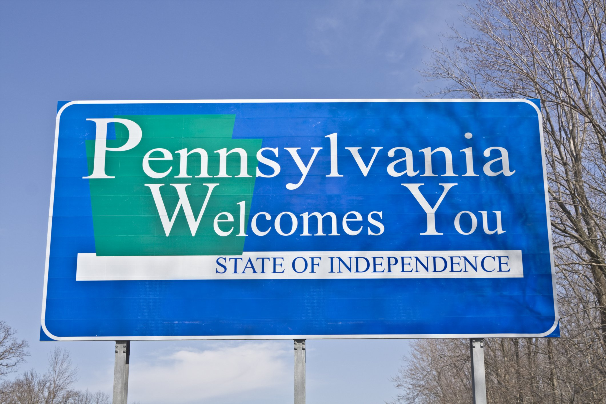 Slide 39 of 51: Pennsylvania is home to many historical moments, including the signing of the Declaration of Independence, the creation of the first American flag, and the birth of the first computer. See the difference between the Declaration of Independence and the United States Constitution.