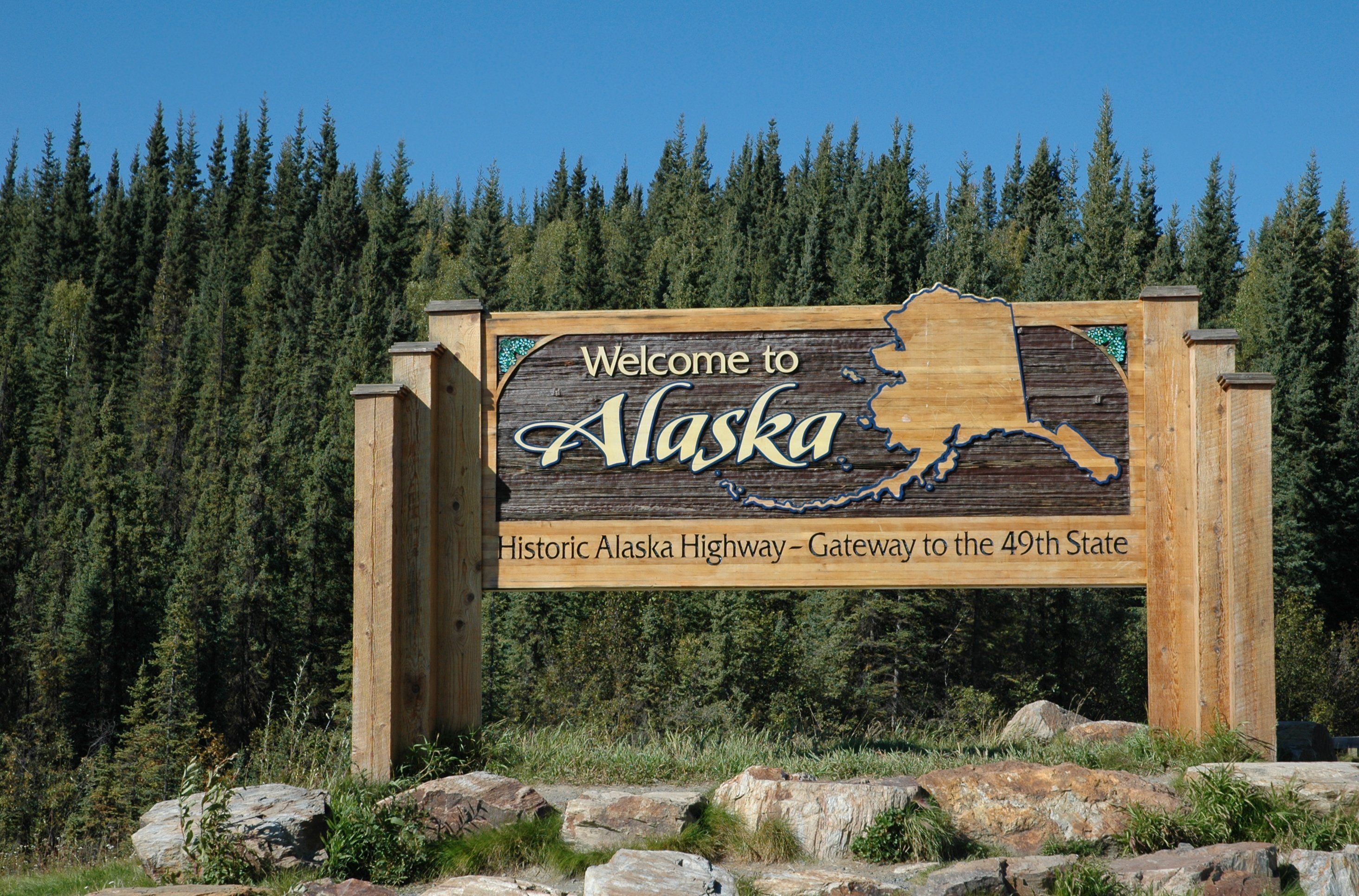 Slide 3 of 51: The state of Alaska is so large that if you could see 1 million acres of the state each day, it would take you an entire year to see everything. Check out this U.S. trivia you never learned in history class.