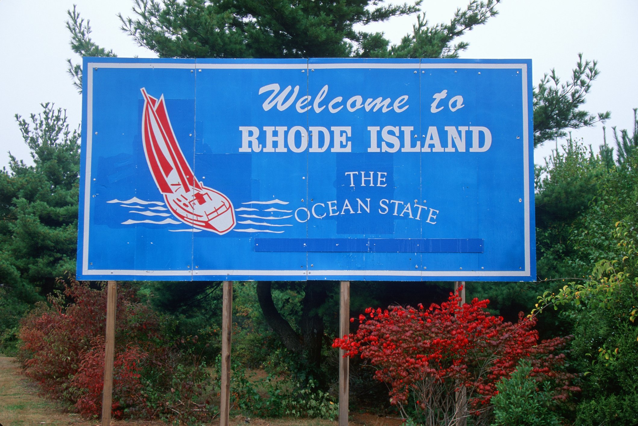 """Slide 40 of 51: Rhode Island is a popular destination for sailing, surfing, and fishing, hence why it's known as the """"Ocean State."""" These are the most scenic nature getaways in every state."""