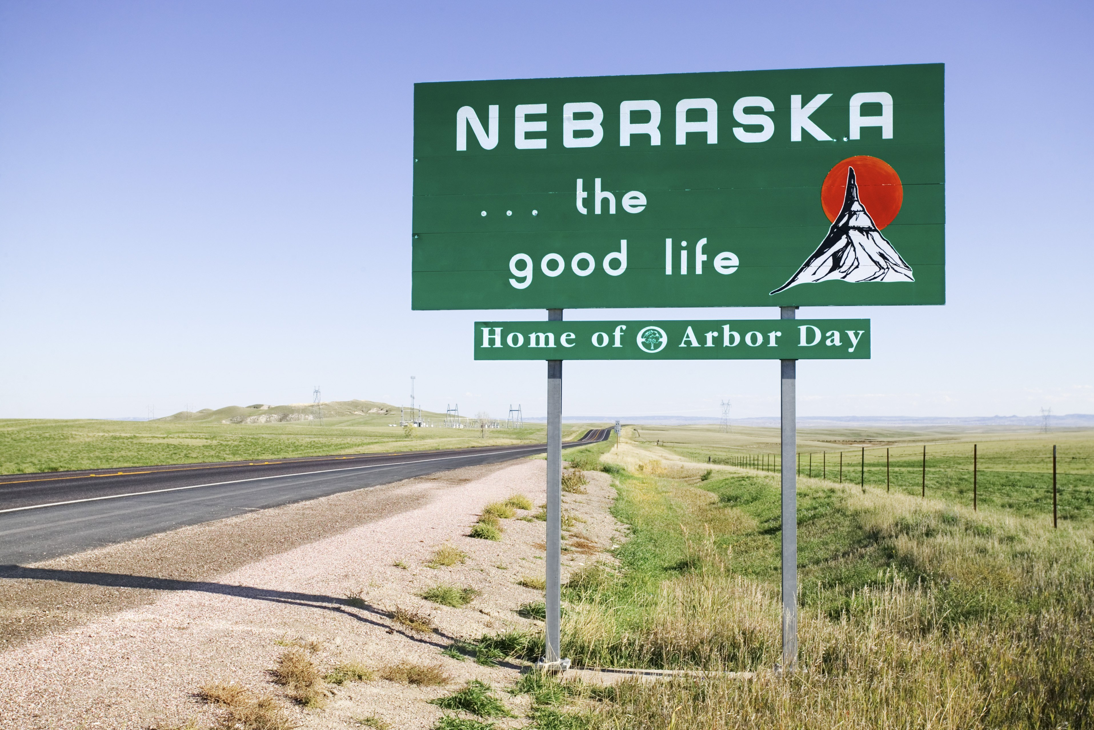 Slide 28 of 51: Nebraska is the birthplace of the Rueben sandwich consisting of corned beef, swiss cheese, Russian dressing, and sauerkraut.