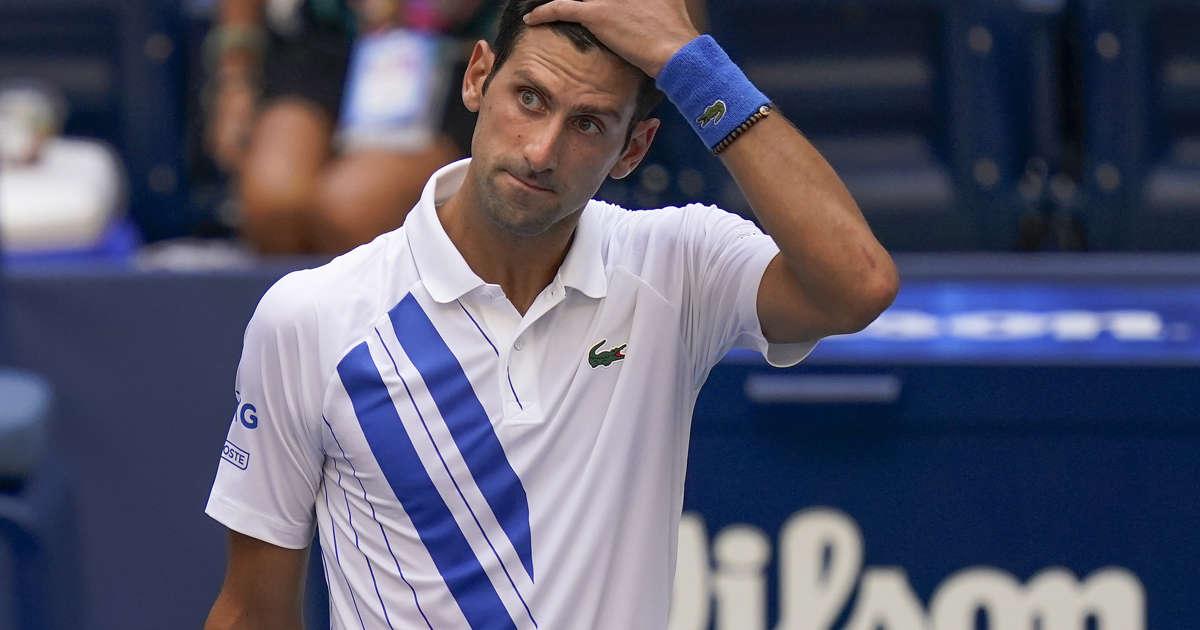 Djokovic Sensationally Kicked Out Of Us Open