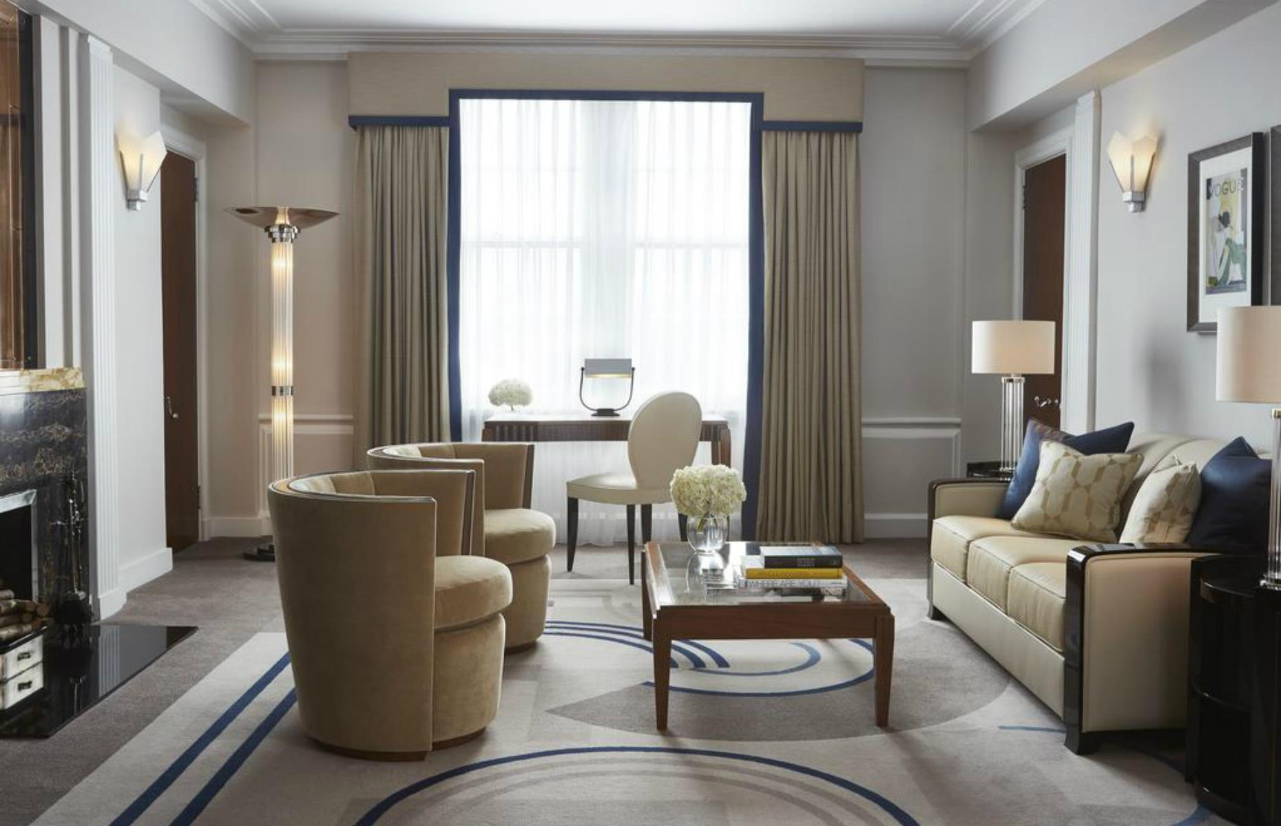 Slide 24 of 24: This landmark London Mayfair hotel is as timeless as they come. Concierges first held open the doors in 1856 and it was remodeled in an Art Deco style in the 1920s. Since then, Claridge's has stayedtrue to that elegant period, with a restoration in the 1990s based on archive photographs. Tired furnishings have been replaced with luxurious fabrics and pieces that reflect the opulent glamor of the era that made it an icon.