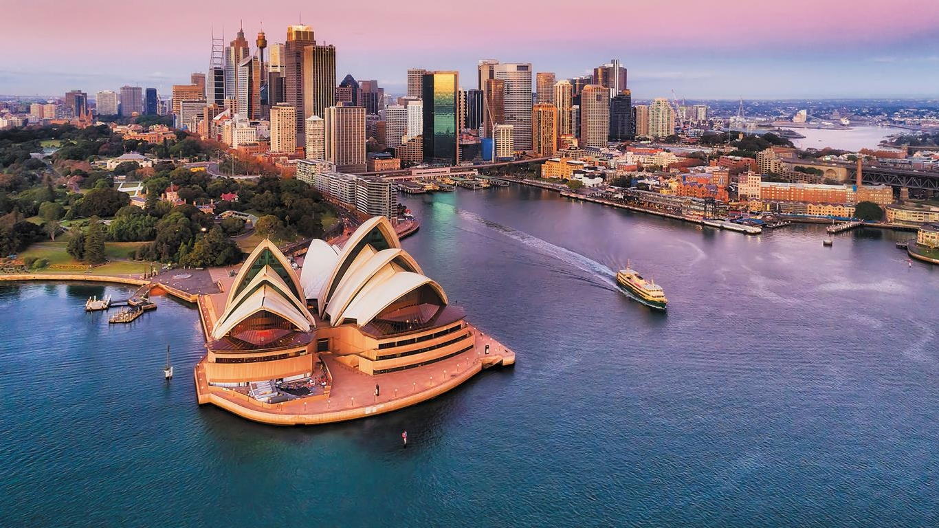 Slide 2 of 11: It should come as no surprise that travelers can't wait to visit Down Under. With 1,174,920 annual global searches, Australia edges out nearby New Zealand and China to kick off the top 10. Nonetheless, the nation has yet to fully reopen to tourism.