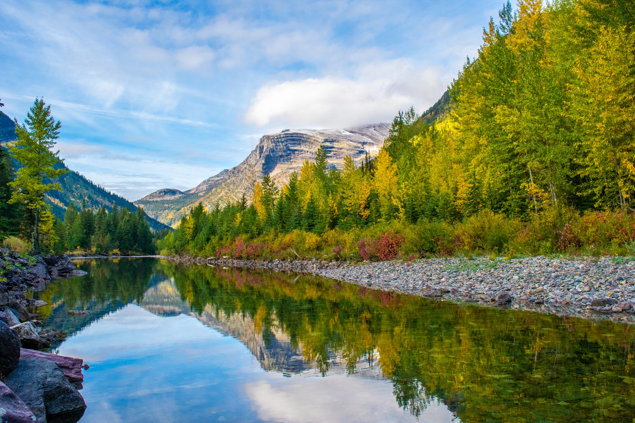 Slide 10 of 11: Glacier National Park, Montana (Glacier Park International Airport) • $331 round trip (32% off 2019 prices)