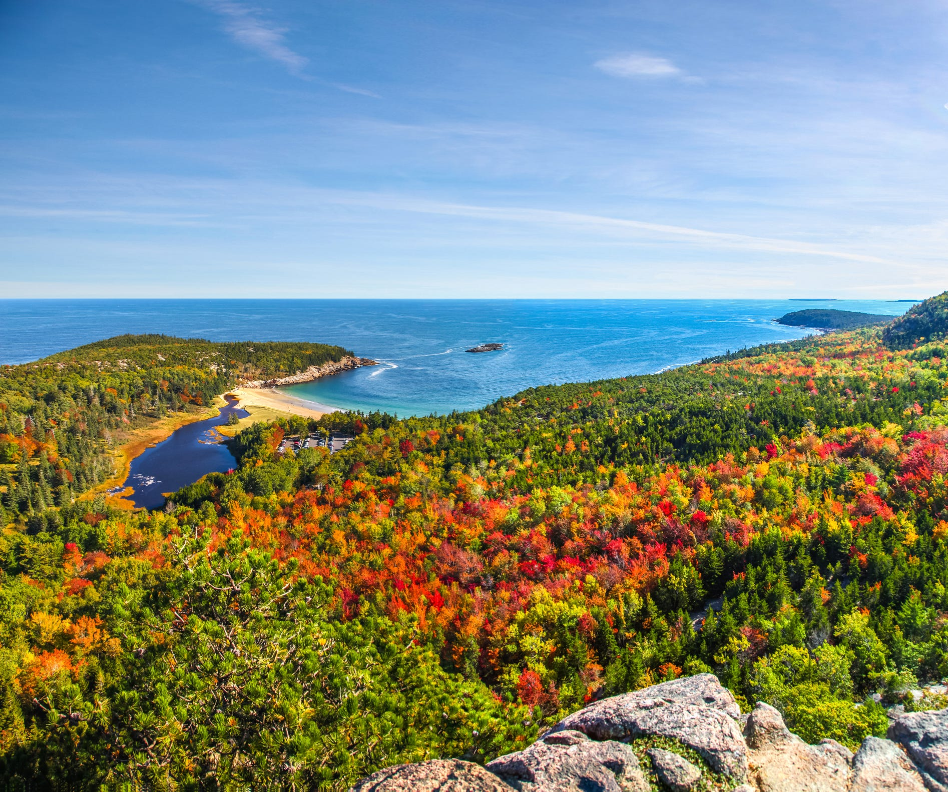 Slide 8 of 11: Acadia National Park, Maine (Bangor International Airport) • $225 round trip (43% off 2019 prices)