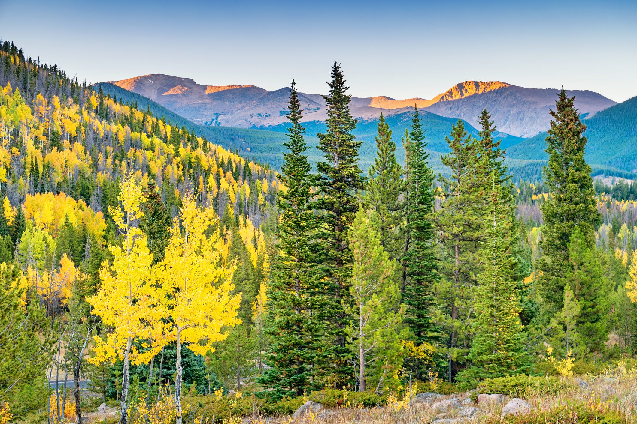 Slide 11 of 11: Rocky Mountain National Park, Colorado (Denver International Airport) • $184 round trip (23% off 2019 prices)