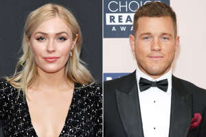 Colton Underwood and a woman pose for a photo: Amy Sussman / E! Entertainment / NBCU Photo Bank; JC Olivera / WireImage Cassie Randolph, Colton Underwood