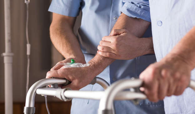 The resident passed away on Monday in Midland Regional Hospital after previously testing positive for the virus Pic: Shutterstock