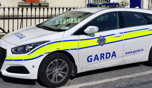 a car parked in a parking lot: All seven men are being held at Ballyconnell and Cavan Garda Stations. Pic: Shutterstock