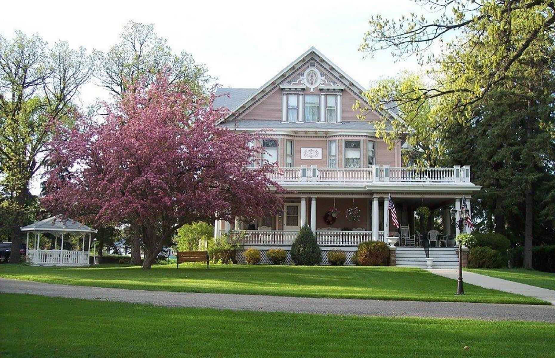 Slide 36 of 52: From the quiet, sweeping plains to the surreal Badlands, North Dakota is the epitome of the Midwest. And travelers can still find sweet little B&Bs, such as the inviting Dakotah Rose on the banks of the Souris River in Minot. Set in an elegant home dating back to the early 1900s, the rooms have lovely historical touches like leaded glass windows and clawfoot tubs, while the garden is populated by maples, oaks and lilac bushes.