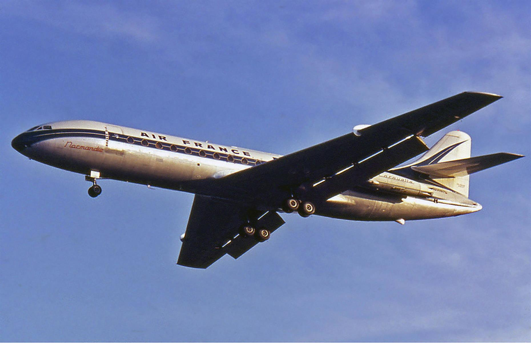 Slide 19 of 35: The plane was retired in 2005 but remains one of the most influential in the industry. It was flown by the likes of Air France, Swissair and Finnair, ferrying well-heeled Europeans between capital cities for decades.