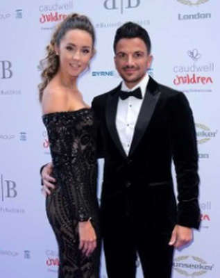 Peter Andre standing posing for the camera