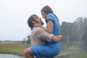 a man and a woman sitting in a field: Best Netflix Chick Flicks