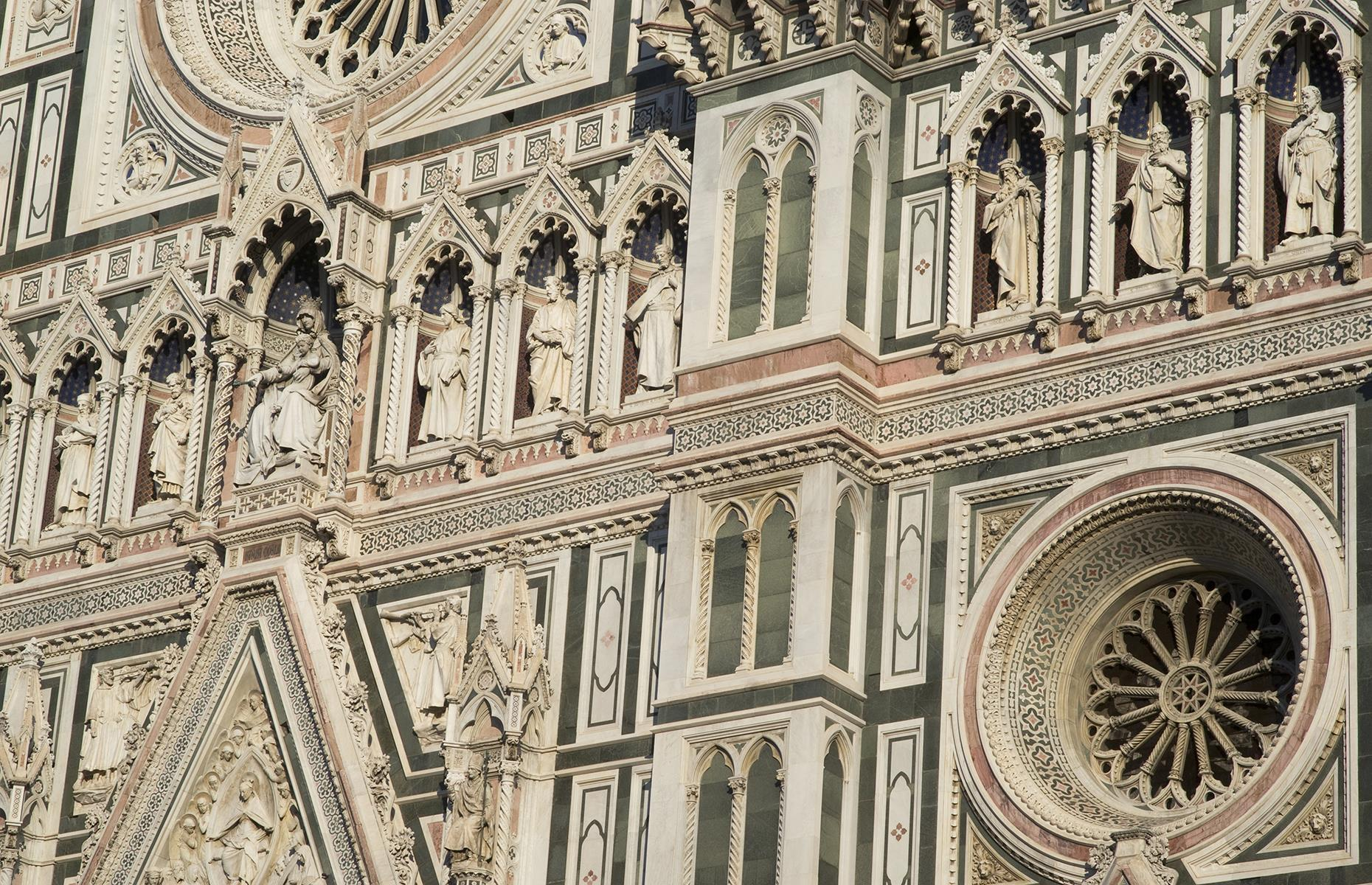 Slide 40 of 53: One of the planet's most famous cathedrals, this Florence icon has the largest masonry dome in the world. It is also among the biggest cathedrals in the world.