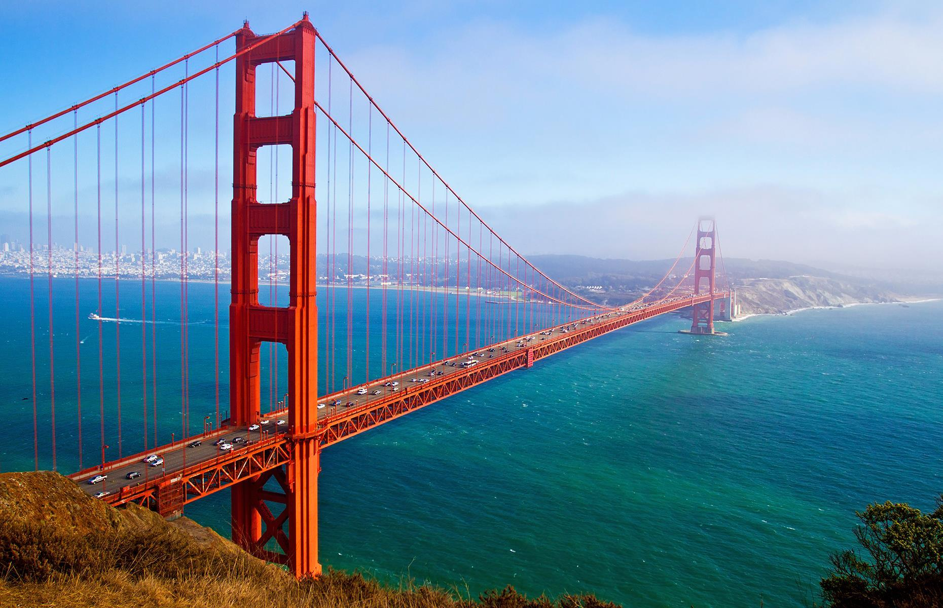 Slide 49 of 53: Finished in 1937, the Golden Gate Bridge is one of the most recognizable bridges in the world. It's also among the world's most expensive– it cost a total of$1.14 billionattoday's value.Discover more of the incredible bridges in every US state.