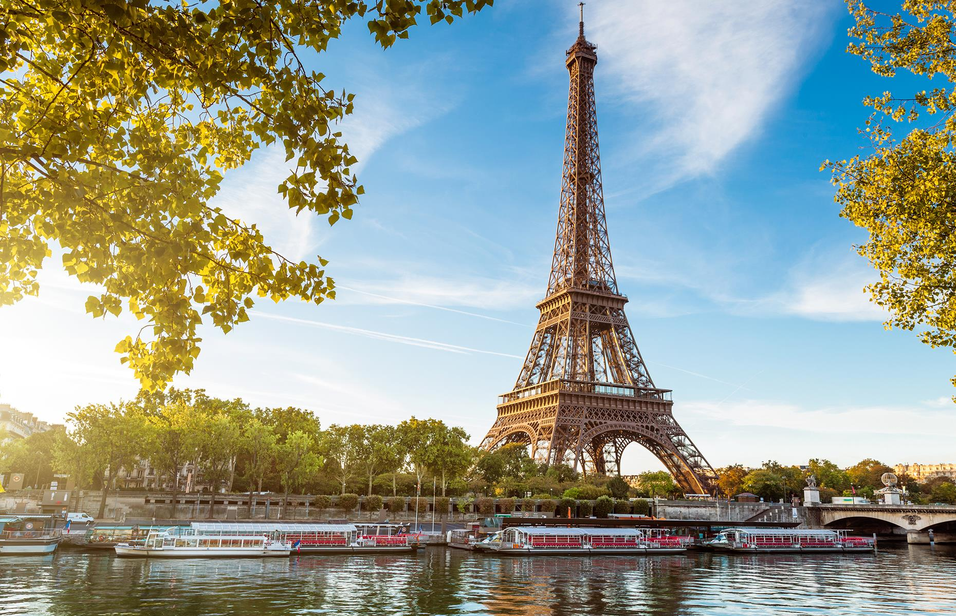 Slide 19 of 53: Designed and built by engineer Gustave Eiffel's company, the Eiffel Tower in Paris is tipped as the most visited paid monument in the world. The tower has three observationdecks, two restaurants and a small apartment Eiffel built for himself.