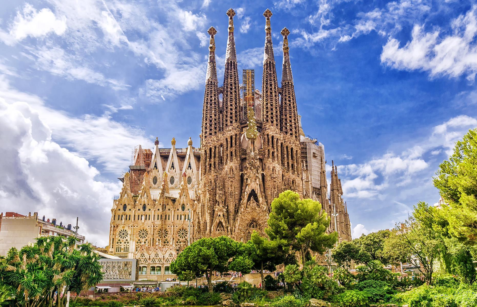Slide 53 of 53: A dominant feature of Barcelona's skyline, the Sagrada Família has been a work in progress since 1882, when construction started. Designed by Antoni Gaudí, the basilica is expected to be finished by 2026 – the centenary of Gaudí's death. Take a look at the world's most beautiful cathedrals.