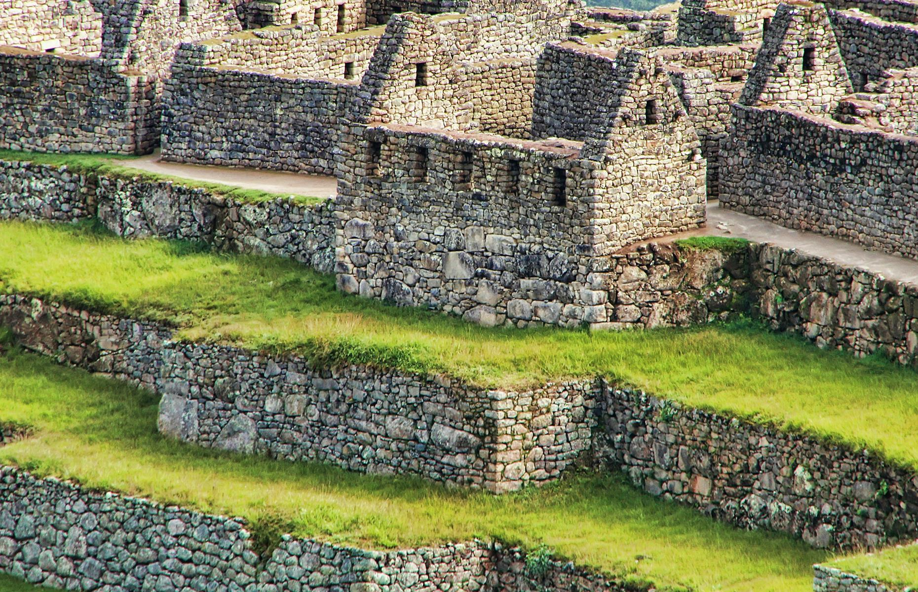 Slide 26 of 53: Located high in the mountains of Peru, this ancient city was an Inca emperor's estate. It was recognized as one of the new seven wonders of the world in 2007 too.