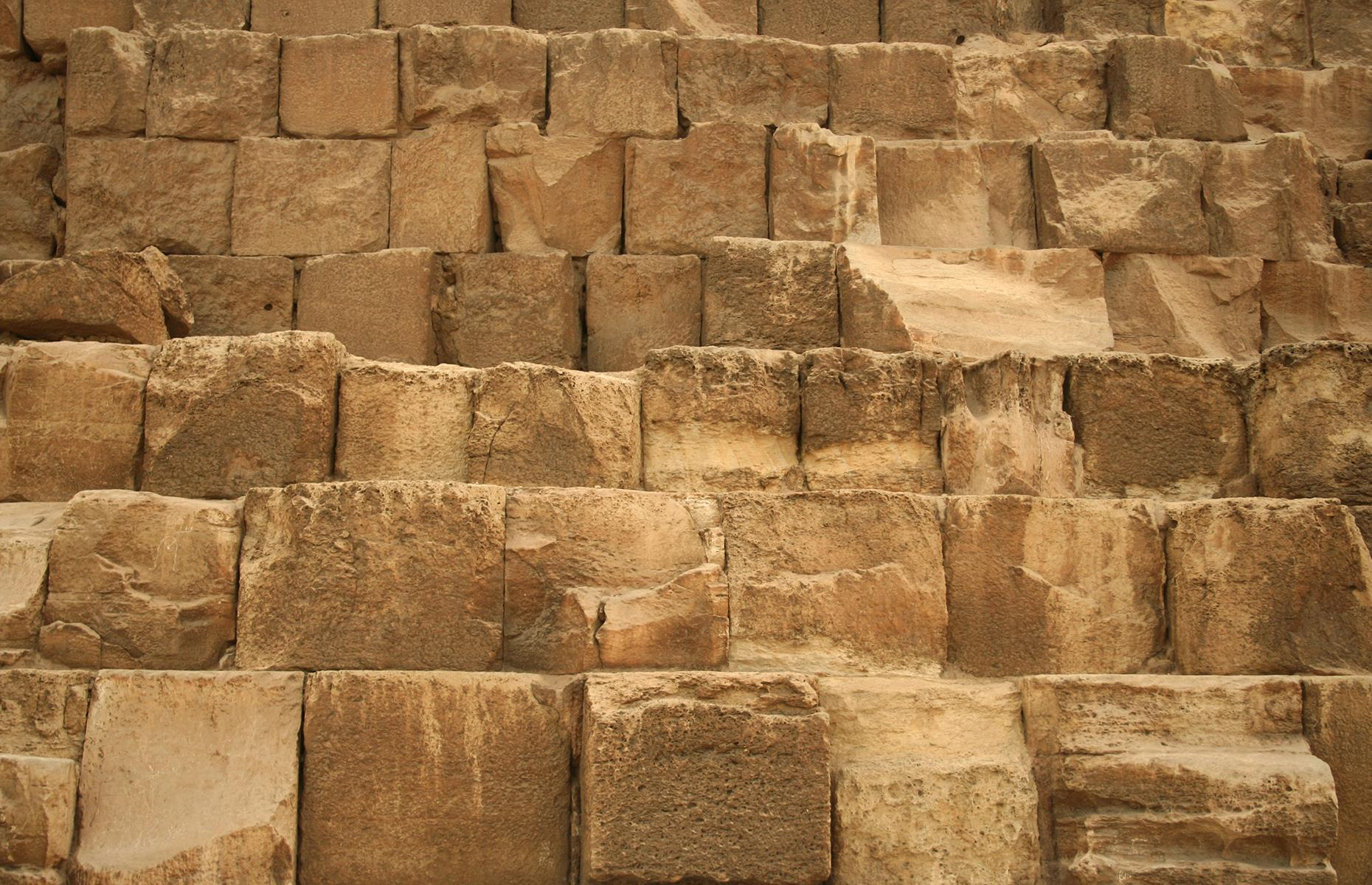 Slide 22 of 53: Dating back to around 2560 BC, it's one of the seven wonders of the world. Located in Egypt, this man-made structure has puzzled scientists for decades because no one's really sure how exactly it was built.