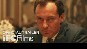 Jude Law wearing a suit and tie: Opening in theaters September 18th  Directed by: Sean Durkin Starring: Jude Law, Carrie Coon  Rory (Jude Law), an ambitious entrepreneur and former commodities broker, persuades his American wife, Allison (Carrie Coon), and their children to leave the comforts of suburban America and return to his native England during the 1980s. Sensing opportunity, Rory rejoins his former firm and leases a centuries-old country manor, with grounds for Allison's horses and plans to build a stable. Soon the promise of a lucrative new beginning starts to unravel, the couple have to face the unwelcome truths lying beneath the surface of their marriage.  #TheNest #IFCFilms   Subscribe to IFC Films: https://bit.ly/2K4KMZV  Connect with IFC Online IFC Films Official Site: http://www.ifcfilms.com Follow IFC Films on Twitter: http://twitter.com/IFCFilms Find IFC Films on Facebook: http://facebook.com/IFCFilmsOfficial Follow IFC Films on Instagram : http://instagram.com/ifcfilms