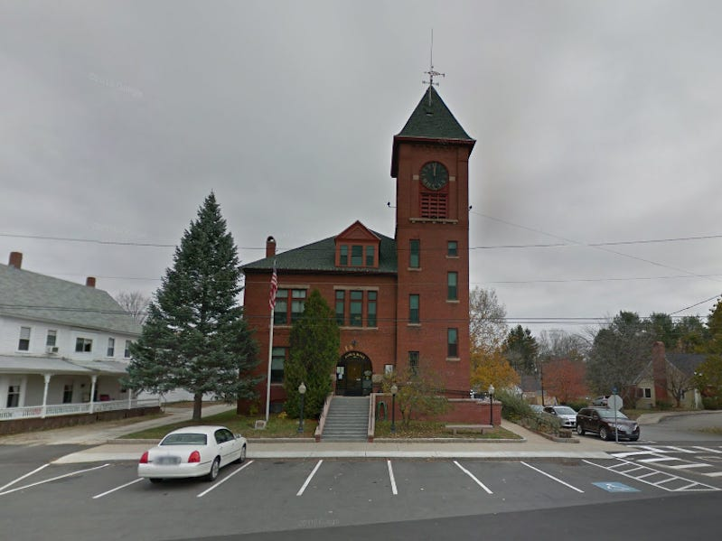 Slide 30 of 51: This historic government building in Alton, New Hampshire, is not only a beautiful landmark, it is also the site of reported paranormal activity.Locals have reported seeing furniture that moves, doors that open and close on their own, and hearing mysterious voices.