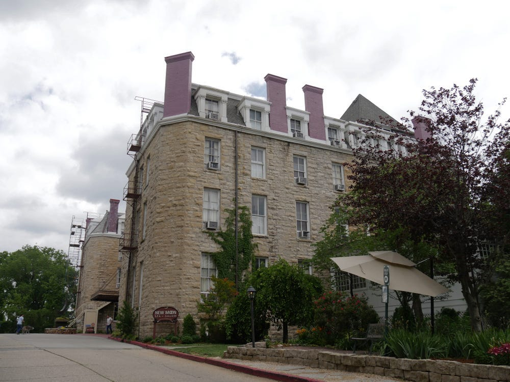 "Slide 5 of 51: The Crescent Hotel in Eureka Springs, Arkansas, prides itself on its status as a haunted hotel. Guests can participate in ghost tours and potentially catch a glimpse of several ghosts who reportedly frequent the property, including one who's known as ""the girl in the mist."""