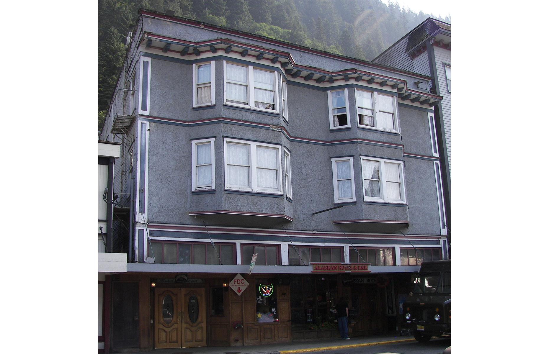 Slide 3 of 51: Opened in 1913, Juneau's Alaskan Hotel has a serious reputation for ghosts and ghouls. So much so that staff report regular encounters with the paranormal and it was also featured on Travel Channel's series Portals to Hell. The most haunted spot (Room 315, which some guests specifically request) is said to be the room of a gold miner's wife who lived here waiting for her husband to come back. When at first he didn't, she became a working girl to support herself – and when her husband did eventually return, he wasn't best pleased with his wife's new career. Legend has it he killed her and she never left.