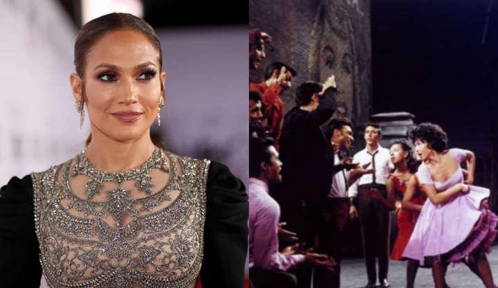 """Slide 9 de 31: J.Lo confessou ter assistido ao filme 37 vezes! """"Eu nunca quis ser aquela Maria covarde... Eu queria ser Anita, que dançou o seu caminho até o topo""""."""