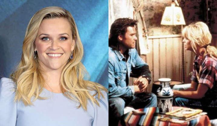 Slide 6 de 31: A atriz já declarou seu amor pela comédia romântica estrelada por Kurt Russel e Goldie Hawn durante a transmissão do Oscar em 2012.