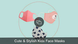 diagram: kids face masks