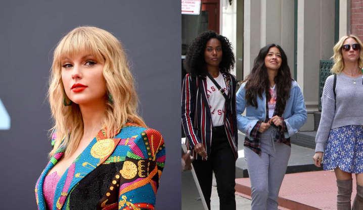 Slide 2 de 31: No 'The Ellen DeGeneres Show', a diva pop revelou que amou a comédia romântica da Netflix sobre uma jornalista de música que tenta superar o fim de um relacionamento com a ajuda das amigas.