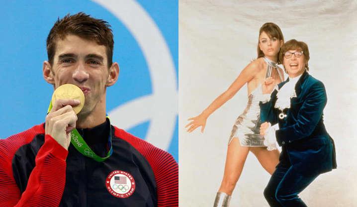 """Slide 30 de 31: """"Ainda é tão engraçado quanto era quando foi lançado"""", disse o nadador americano e medalhista de ouro olímpico."""