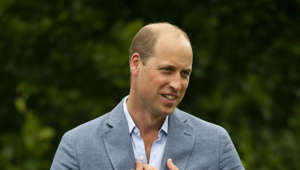 Prince William, Duke of Cambridge wearing a suit and tie