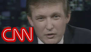 In a September 2, 1987, interview with CNN's Larry King, Donald Trump says he has no interest in being president and explains why he took out an ad ripping the George H.W. Bush administration.