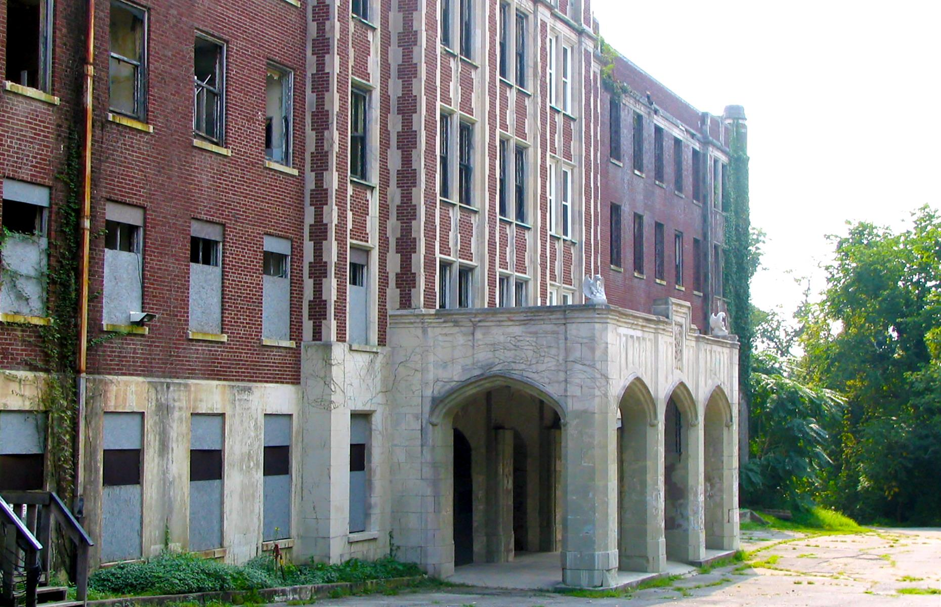 Slide 19 of 52: Construction of the mansion-like Waverly Hills Sanatorium was completed in the 1920s for the Board of Tuberculosis Hospital. But, following the discovery of antibiotics that could treat TB, the sanatorium closed in 1961. It had a brief stint as a care facility for the elderly before being abandoned entirely by the 1980s. For years it stood deserted, but today guided tours and ghost hunts take brave visitors through the moldering corridors, tattered staircases and long-empty wards – reservations are required.